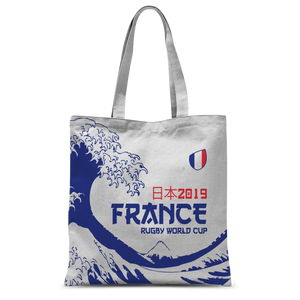 'Great Wave' - France Tote Bag