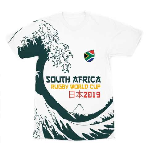 Mens - South Africa - 'Great Wave' Premium T-Shirt