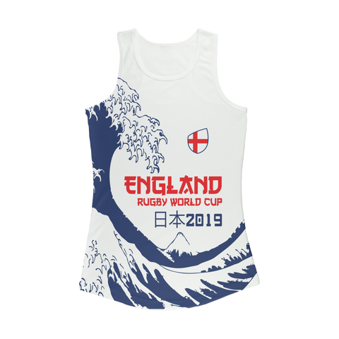 Ladies - England - 'Great Wave' Performance Vest