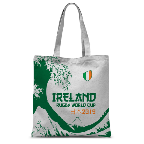 Ireland - 'Great Wave' Tote Bag