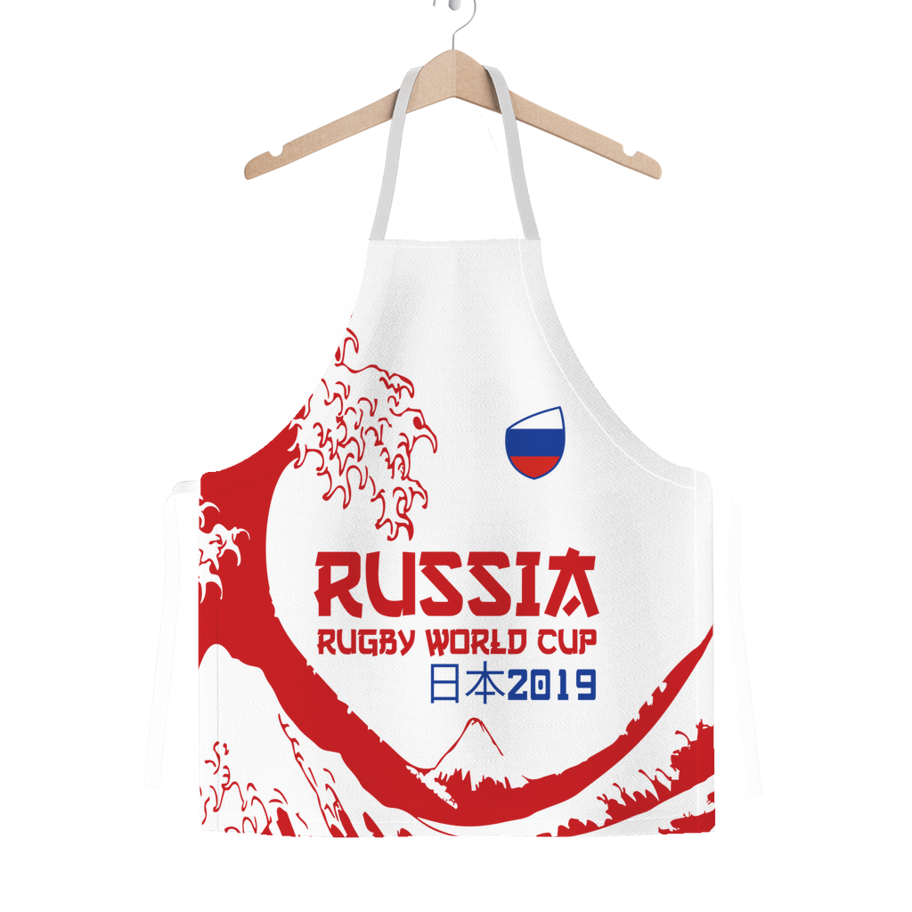 'Great Wave' - Russia Apron