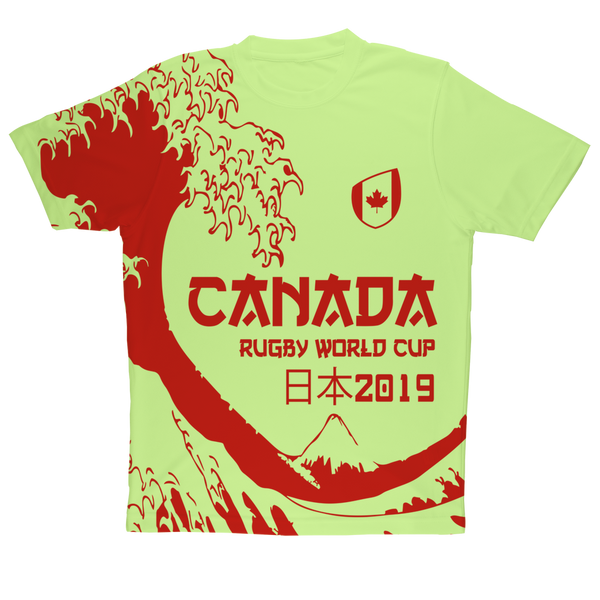 Mens - Canada - 'Great Wave' Performance T-Shirt