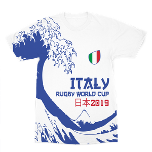 Mens - Italy - 'Great Wave' Premium T-Shirt
