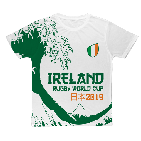 Ladies - Ireland - 'Great Wave' T-Shirt