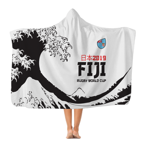 'Great Wave' - Fiji Hooded Blanket