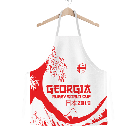 'Great Wave' - Georgia Apron