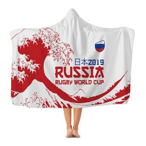 'Great Wave' - Russia Hooded Blanket