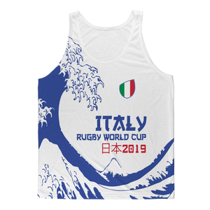 Mens - Italy - 'Great Wave' Athlete Vest