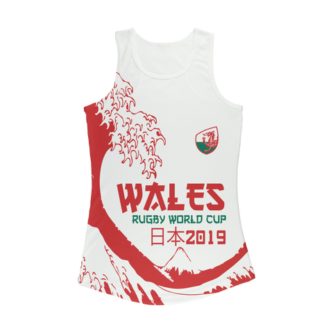 Ladies - Wales - 'Great Wave' Performance Vest