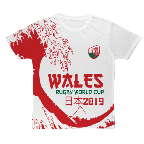 Mens - Wales 'Great Wave' T-Shirt