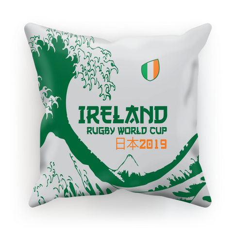 Ireland - 'Great Wave' Cushion Cover