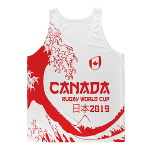 Mens - Canada - 'Great Wave' Athlete Vest