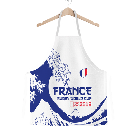 'Great Wave' - France Apron