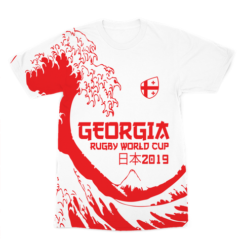 Ladies - Georgia - 'Great Wave' Premium T-Shirt
