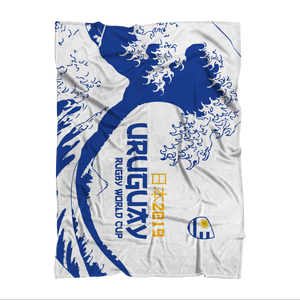 'Great Wave' - Uruguay Throw Blanket