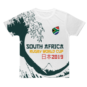 Mens - South Africa - 'Great Wave' T-Shirt