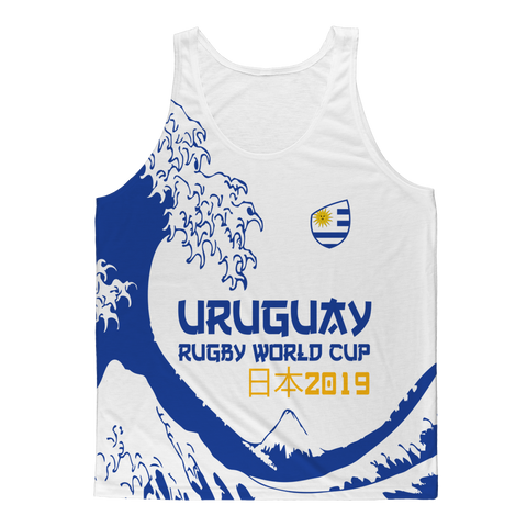 Mens - Uruguay - 'Great Wave' Athlete Vest