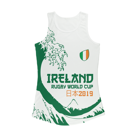 Ladies - Ireland - 'Great Wave' Performance Vest