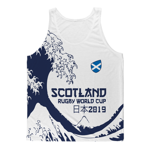 Ladies - Scotland - 'Great Wave' Athlete Vest