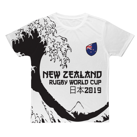 Ladies - New Zealand - 'Great Wave' T-Shirt