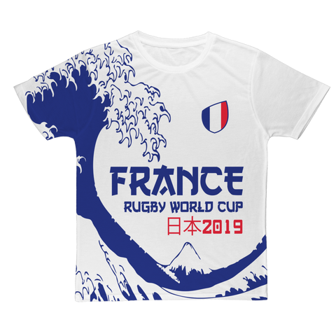 Ladies - France - 'Great Wave' T-Shirt
