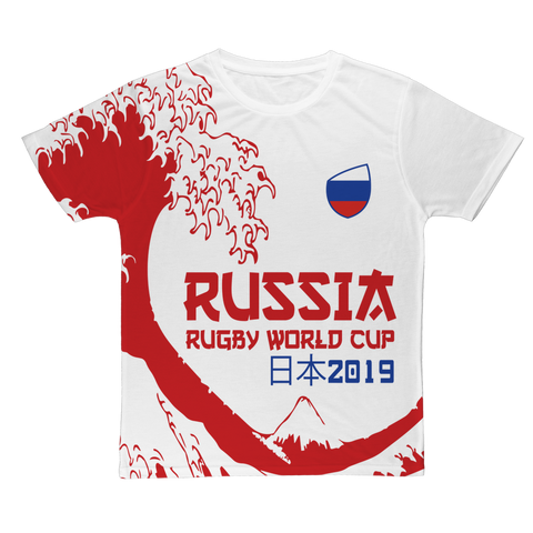 Mens - Russia - 'Great Wave' T-Shirt