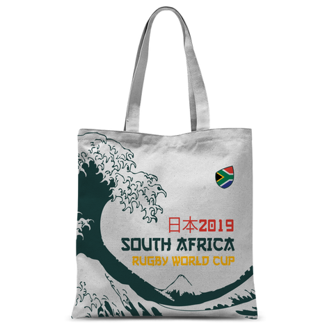 'Great Wave' - South Africa Tote Bag