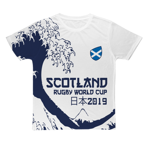 Ladies - Scotland - 'Great Wave' T-Shirt