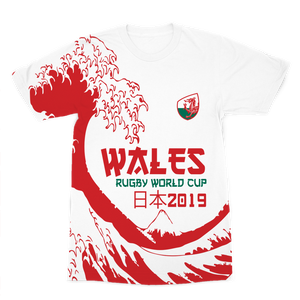 Mens - Wales 'Great Wave' Premium T-Shirt