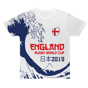 Ladies - England - 'Great Wave' T-Shirt