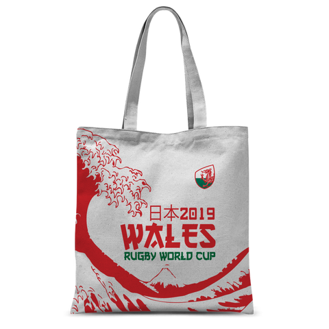 'Great Wave' - Wales Tote Bag