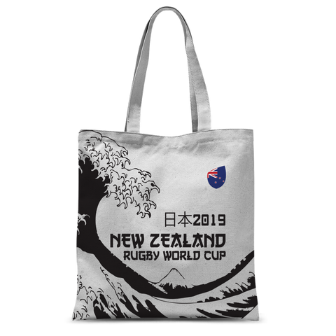 'Great Wave' - New Zealand Tote Bag