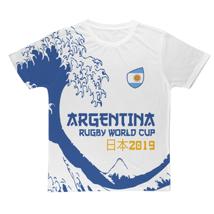 Ladies - Argentina - 'Great Wave' T-Shirt