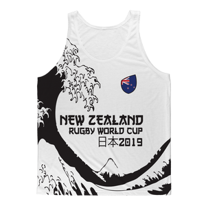 Ladies - New Zealand - 'Great Wave' Athlete Vest