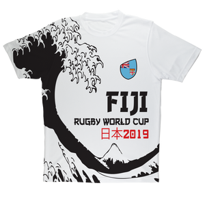 Mens - Fiji - 'Great Wave' Performance T-Shirt