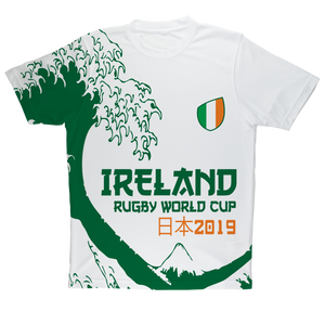 Ladies - Ireland - 'Great Wave' Performance T-Shirt