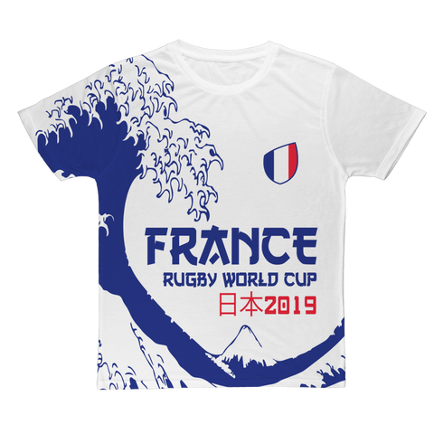 Mens - France - 'Great Wave' T-Shirt