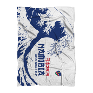 'Great Wave' - Namibia Throw Blanket