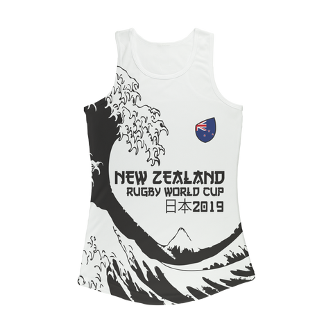 Ladies - New Zealand - 'Great Wave' Performance Vest