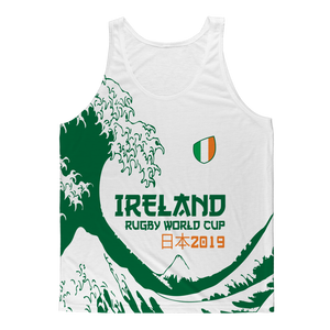 Ladies - Ireland - 'Great Wave' Athlete Vest