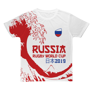 Ladies - Russia - 'Great Wave' T-Shirt