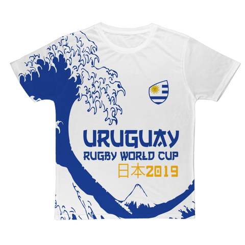 Mens - Uruguay - 'Great Wave' T-Shirt