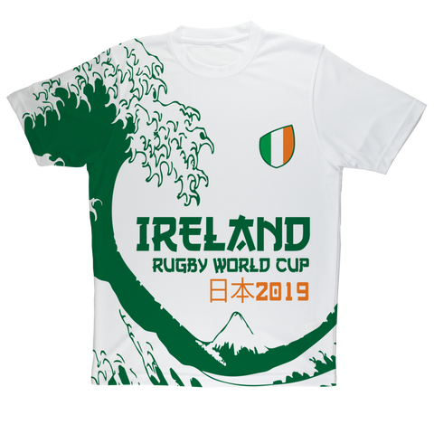 Mens - Ireland - 'Great Wave' Performance T-Shirt