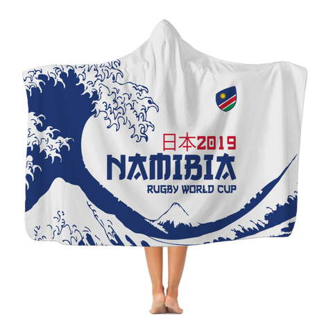 'Great Wave' - Namibia Hooded Blanket