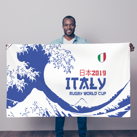 'Great Wave' - Italy Flag