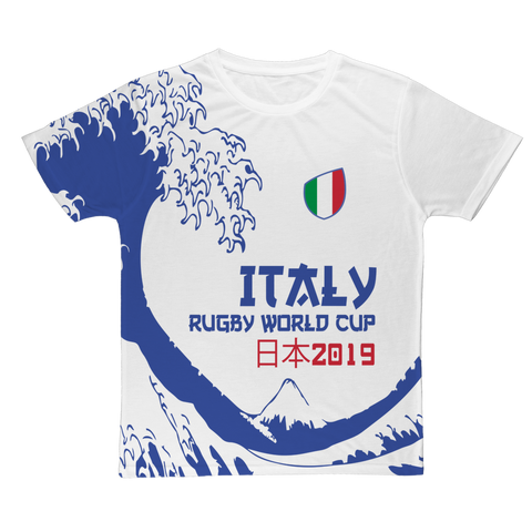 Mens - Italy - 'Great Wave' T-Shirt