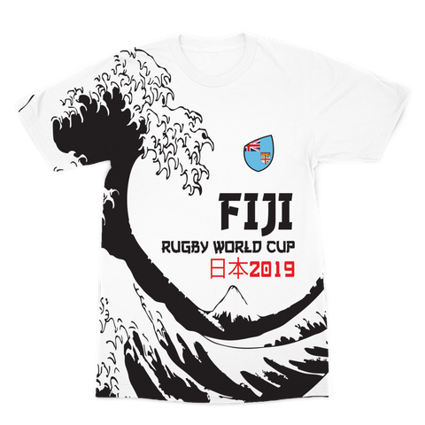 Mens - Fiji - 'Great Wave' Premium T-Shirt