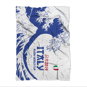 'Great Wave' - Italy Throw Blanket