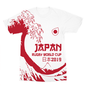 Ladies - Japan - 'Great Wave' Premium T-Shirt