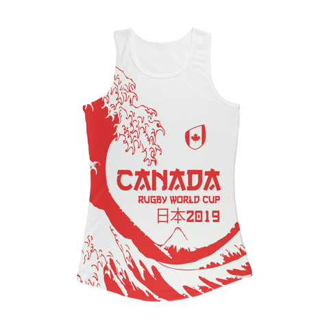 Ladies - Canada - 'Great Wave' Performance Vest